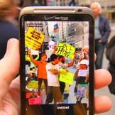 zuccotti park augmented reality
