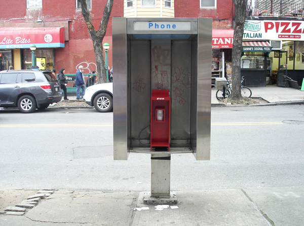 community phone booth