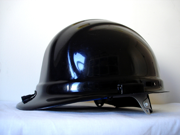 re-wired helmet
