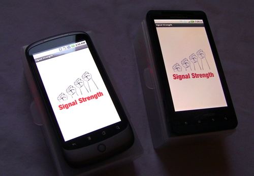signal strength modules